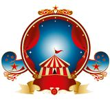 Цирк штемпеля большой верхней части Стоковое Изображение RF