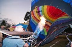 цирк bealton воздушного шара летая горячая photgrphed выставка va Стоковая Фотография RF