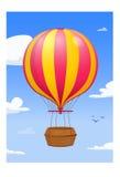 цирк bealton воздушного шара летая горячая photgrphed выставка va бесплатная иллюстрация