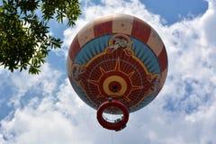 цирк bealton воздушного шара летая горячая photgrphed выставка va стоковое фото rf