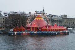 Цирк Conelli в Цюрихе стоковое изображение rf