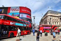 цирк london piccadilly стоковое изображение