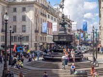цирк london piccadilly Стоковое фото RF