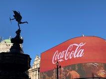 Цирк Piccadilly & эрот Лондон стоковая фотография rf