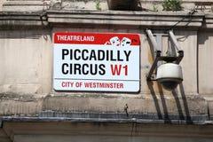 Цирк Piccadilly стоковые изображения