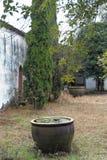 Цистерна с водой для академии лотоса-Ehu Стоковое Изображение