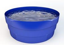 Цистерна с водой Иллюстрация вектора