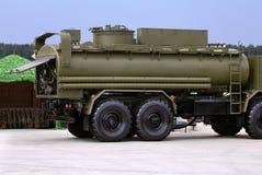 Цистерна топливозаправщика армии Стоковые Изображения RF