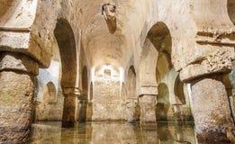 Цистерна Caceres арабская - столетие XII Испания Стоковое Изображение