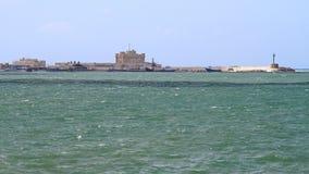 Цитадель Александрия стоковые изображения