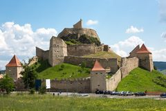 Цитадель Rupea старая в Трансильвании Румынии Стоковое Фото
