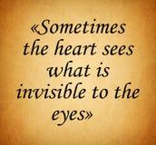 Цитата влюбленности стоковое изображение