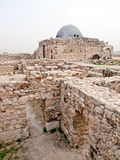 цитадель Иордан amman римский Стоковая Фотография