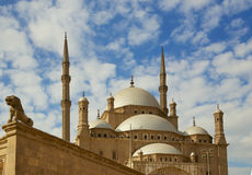Цитадель Каира Стоковая Фотография