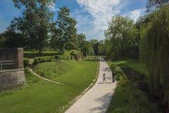 Цитадель Лилля, Франции Стоковое Изображение RF