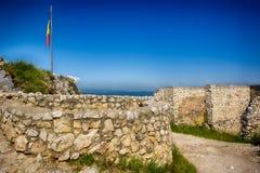 Цитадель RaÈ™nov (румын: Cetatea Râșnov) стоковое фото rf