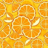 Цитрусовые фрукты отрезают предпосылку Стоковое Изображение RF