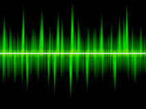 цифровая волна Стоковая Фотография