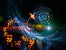 цифровая вселенный иллюстрация вектора