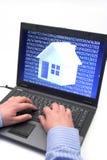 цифровая дом Стоковые Изображения RF