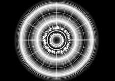 цифровая звезда Стоковые Изображения
