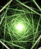 цифровая зеленая матрица Стоковые Изображения RF