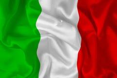 цифровая итальянка флага Стоковое фото RF