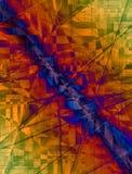 цифровая область 004 иллюстрация вектора