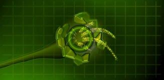 цифровая передача иллюстрация вектора