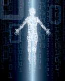 цифровая персона Стоковые Фотографии RF
