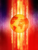 цифровая планета Стоковые Изображения