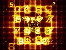 цифровая решетка Стоковая Фотография RF
