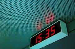 цифровое время Стоковые Фото