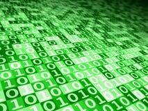 цифровое зеленое настроение Стоковое фото RF