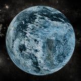 Цифровое изображение земли Стоковое Изображение