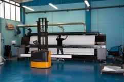 цифровое печатание давления формы широко Стоковая Фотография RF
