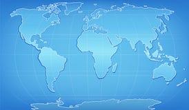 цифровое слово карты Стоковые Фото