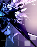 цифровое сплавливание иллюстрация вектора