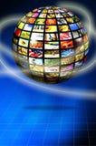 цифровое телевидение Стоковое Изображение RF