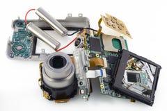 цифровое треснутое камерой Стоковое Фото
