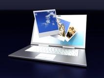 цифровое фото иллюстрации штольни 3d представило Стоковое Изображение