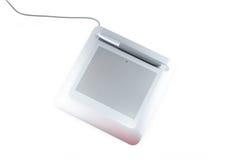 цифровое whith таблетки пер стоковая фотография rf