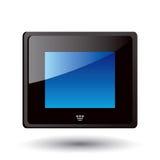 цифровой вектор lcd рамки eps Стоковая Фотография RF