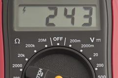 цифровой вольтамперомметр Стоковые Изображения RF