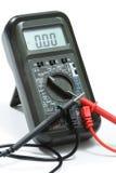 цифровой вольтамперомметр Стоковая Фотография