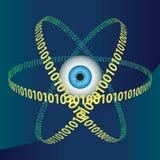 цифровой глаз Бесплатная Иллюстрация
