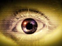 цифровой глаз Стоковое Фото