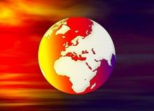 цифровой глобус Стоковые Изображения