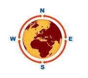 цифровой глобус Стоковые Фотографии RF