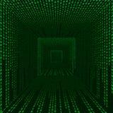 цифровой космос матрицы Бесплатная Иллюстрация